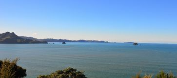 Mercury Bay, New Zealand stock photo
