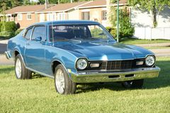 Mercury Comet. Picture of the 1976 Mercury Comet royalty free stock image