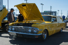 Mercury Comet Station Wagon on display Royalty Free Stock Images