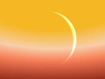 Mercury contra Sun Foto de archivo libre de regalías