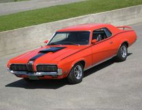 Mercury Cougar Eliminator. 1970 Mercury Cougar Eliminator royalty free stock photography