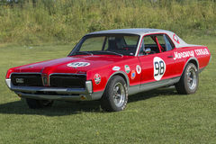 Mercury cougar racer Stock Photography