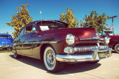 Mercury Coupe klassikerbil 1950 Fotografering för Bildbyråer