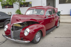 1940 Mercury Coupe Side View Royalty-vrije Stock Afbeelding