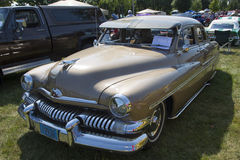 1951 Mercury Coupe Side View Royalty-vrije Stock Afbeelding