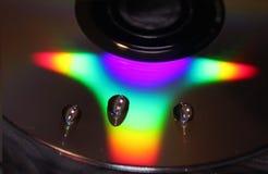 Mercury-dalingen om CD stock afbeeldingen
