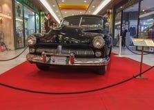Mercury Eigh van Zwarte kleur, uitstekende auto stock fotografie