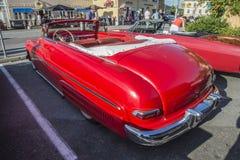 1950-51 Mercury Eight Convertible Royalty-vrije Stock Afbeeldingen