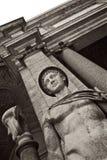 Mercury Hermes staty på Vaticanenmuseet Arkivbild