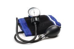 Mercury-manometro per la misura di pressione sanguigna Fotografia Stock