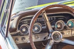 1962 Mercury Marquis. At a classic car show Royalty Free Stock Photos