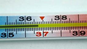 Mercury Medyczny termometr Makro- zdjęcie wideo