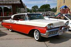 Mercury Montclair Turnpike Cruiser 1958 Immagini Stock