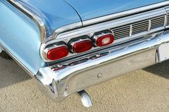Mercury Parklane rear side view Stock Photos