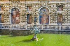Mercury Pond of Alcazar Royalty Free Stock Photography