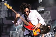 Mercury Rev band performs at Dia de la Musica Festival. Stock Image