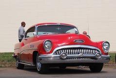 Mercury rojo restaurado Imagenes de archivo