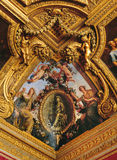 Mercury Salon ceiling Versailles Palace Royalty Free Stock Photos