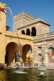 Mercury staw w Alcazar Seville zdjęcie stock