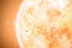 Mercury and Sun