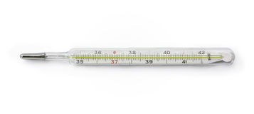 The mercury thermometer Royalty Free Stock Photography