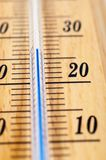 Mercury thermometer Stock Photos