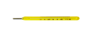 Mercury thermometer Royalty Free Stock Photography