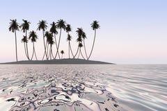 Mercury tropical sea Stock Image