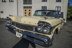 Mercury Turnpike Cruiser Pace Car cabriolet 1957 Arkivbild