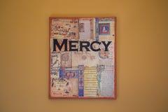 Mercy Sign Stock Photo