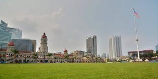 Merdeka广场 吉隆坡 马来西亚 库存照片