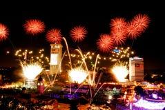 Merdeka Celebration Royalty Free Stock Photo