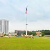 Merdeka fyrkant i Kuala Lumpur royaltyfri bild