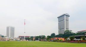 Merdeka fyrkant (självständighetfyrkant) i Kuala Lumpur fotografering för bildbyråer