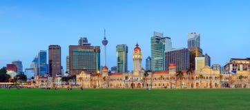 Merdeka Square in Kuala Lumpur Stock Images