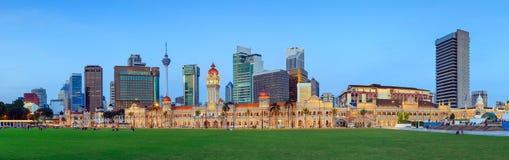 Merdeka Square in Kuala Lumpur Royalty Free Stock Photo