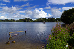 The Mere At Ellesmere Royalty Free Stock Photo
