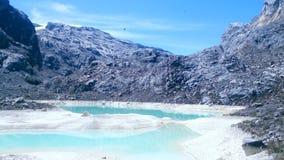 Meren谷的湖 免版税图库摄影