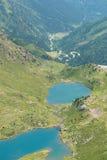 Meren in Andorra Royalty-vrije Stock Afbeelding