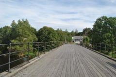 Meren en rivieren van Scandinavië stock fotografie