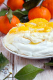 merengue pavlova Zdjęcie Stock