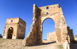 Merenid Fortress in Fes, Morocco Stock Photo