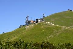 Mereorological station on Terminillo top, Rieti Stock Photos