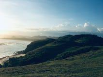 Merese-Hügel zentrales Lombok Indonesien stockfoto