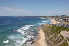 Merewether Beach - Necastle Royalty Free Stock Images