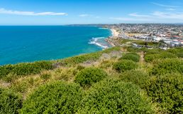 Merewetherstrand - Newcastle - Australië stock fotografie
