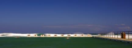 Merewither在新堡,NSW,澳大利亚附近的海洋浴 库存照片