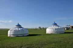 Mergel Riverside account Khan Mongolian steppe Mongolian tribes Stock Photography