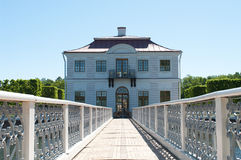Mergeliger Palast in Peterhof, lizenzfreie stockfotos