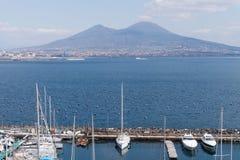 Mergellina Bay of Naples Royalty Free Stock Images